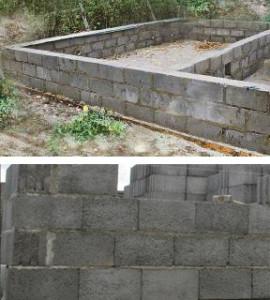 Фундамент дома из керамзитобетона