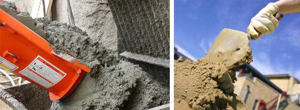 Виды саморасширяющихся цементов