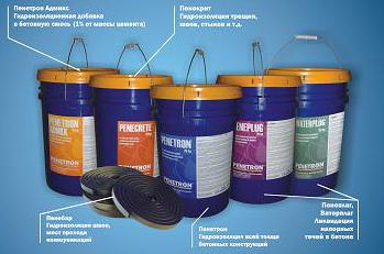 Гидроизоляционные добавки для бетона