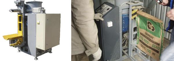 Оборудование для фасовки цемента ФАП-15