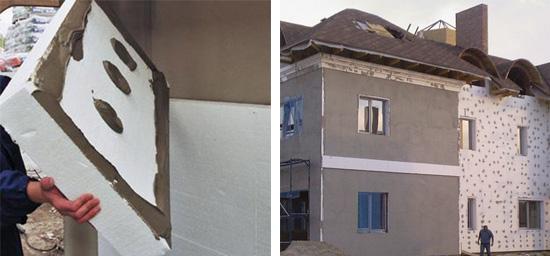 Оптимальные варианты утепления дома из газобетона