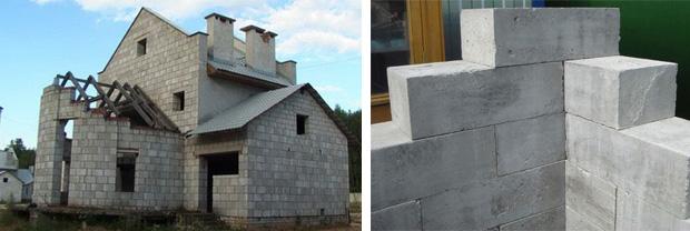 Применение пенобетона в строительстве загородного дома