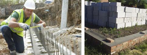 Строительство фундамента для дома из газосиликатных блоков
