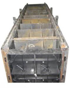 Форма металлическая для блоков пенобетона