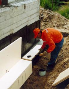 Доверьте процесс теплоизоляции фундамента вашего дома профессионалам