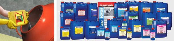Специальные добавки для бетонов и растворов