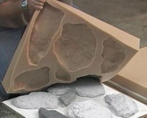 Штамп мягкий для бетона