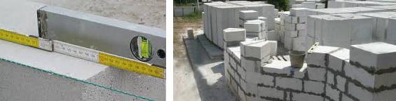 Дом из газобетона - расчет количества блоков
