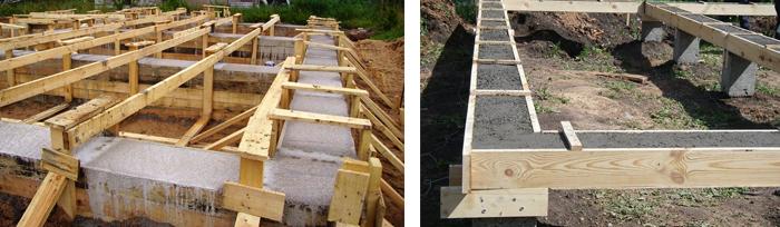 Сколько стоит построить фундамент под дом