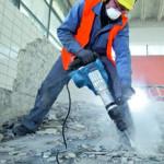 Демонтаж бетонной стяжки пола - обзор методов и стоимость