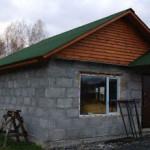 Как самому построить баню из блоков шлакобетона