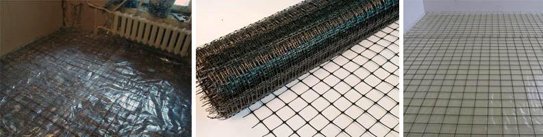 Металлическая сетка под стяжку
