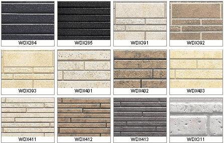 Разнообразие цементно-волокнистых панелей