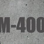 Сколько стоит куб бетона М-400