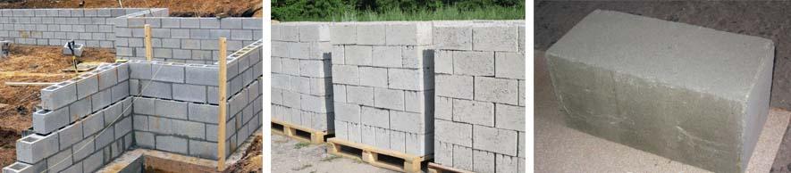 Фото бетонных блоков