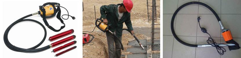Фото вибраторов для бетонных смесей
