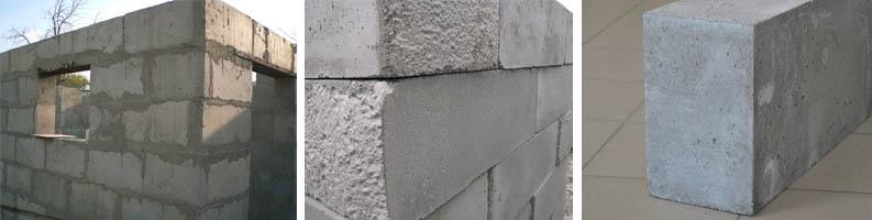 Фото конструкций из полистиролбетона