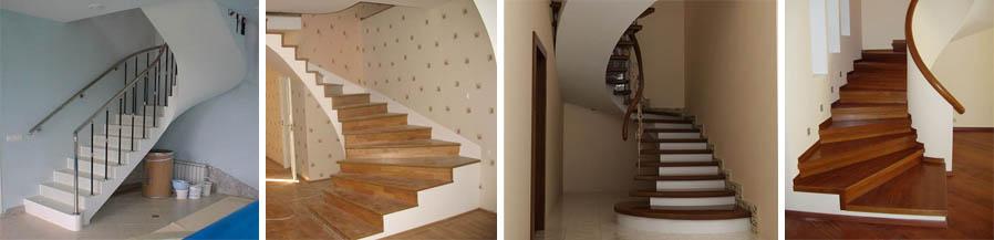 Фото лестниц из бетона в частном доме