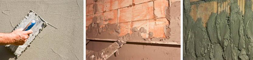 Цементная смесь для штукатурки стен