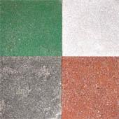 Бетонно-мозаичные плиты