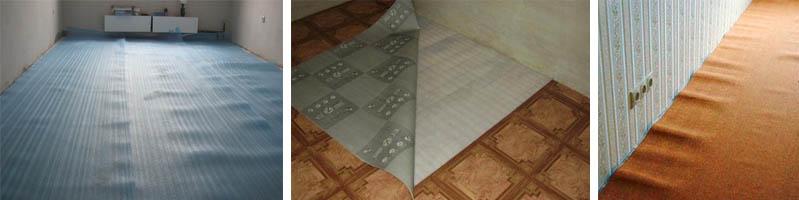 Выравнивающее покрытие для стяжки