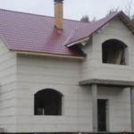 Обзор домов из газобетонных блоков