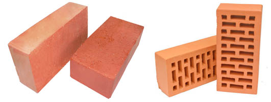 Полно- и пустотелые блоки