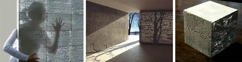Светопроводящие бетонные смеси