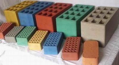 Цветовая гамма шлакоблоков