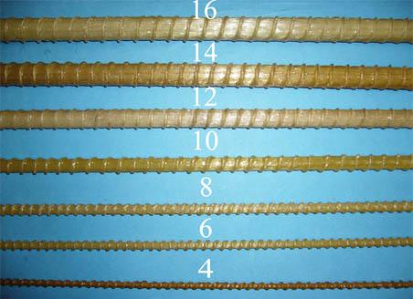 Диаметры арматурных прутков