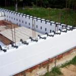 Пенопластовая опалубка для стен и фундамента