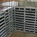 Применение опалубки для стен в строительстве