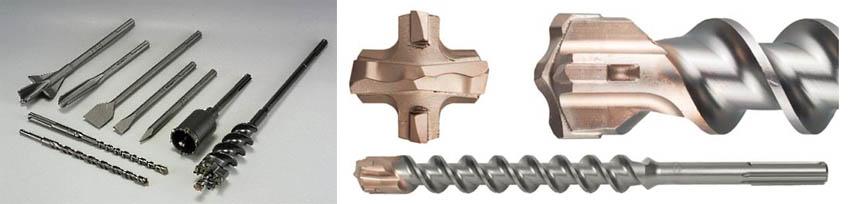Сверла для бетонных конструкций