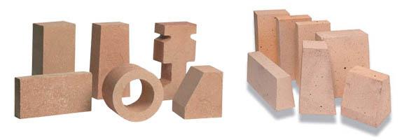 Формы шамотных блоков