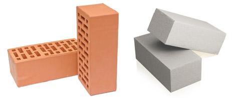 Силикатный и керамический кирпич